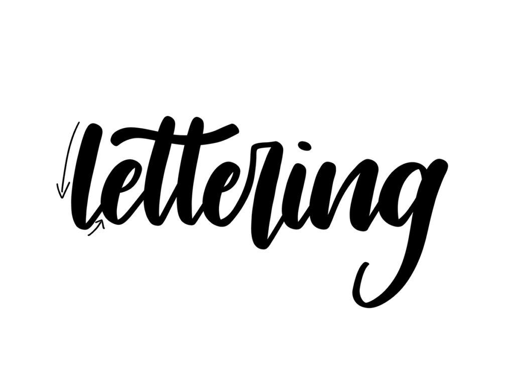 Lettering grunder