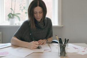 Therese Berggren - makramé & konstprints